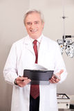 Doctor in Ophthalmology Clinic Stock Photo