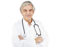 Doctor optional white Royalty Free Stock Photography
