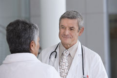 Doctor and patient Royalty Free Stock Images
