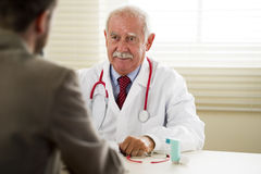 Doctor with Patient Royalty Free Stock Images
