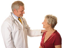 Doctor with Patient Royalty Free Stock Image