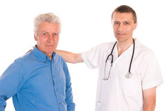 doctor with patient Stock Photography