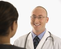 Doctor and patient. Stock Photos