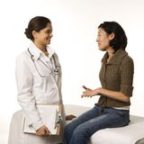 Doctor and patient. Stock Image