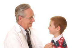 Doctor with Patient 3 Royalty Free Stock Image