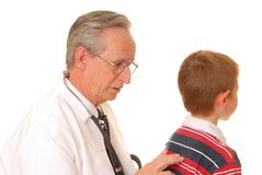 Doctor with Patient 4 Royalty Free Stock Photography