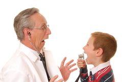 Doctor with Patient 6 Stock Image