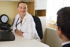 Doctor & Patient Stock Photo