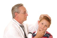 Doctor with Patient 7 royalty free stock photos