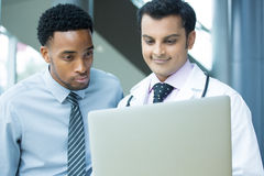 Doctor- patient Stock Photo