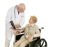 Doctor Patient Consultation Stock Images