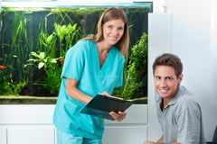Doctor And Patient In Dental Clinic Royalty Free Stock Photo
