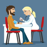 Doctor and patient. Royalty Free Stock Images