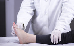 Doctor patient medical examination Royalty Free Stock Photo