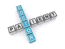 Doctor patient relationship Stock Photography