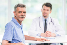 Doctor and patient royalty free stock image