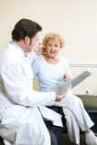 Doctor and Patient - Symptoms Stock Photo