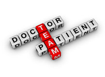 Doctor and Patient Team Stock Photos