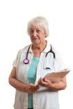 doctor pensionären Arkivbild