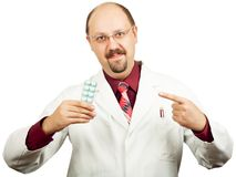 Doctor or Pharmacist royalty free stock images