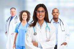 Doctor pharmacist group. Stock Image