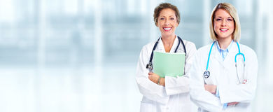 Doctor pharmacist group. Stock Image