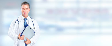 Doctor pharmacist. Stock Images