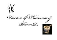 Doctor of Pharmacy Stock Image