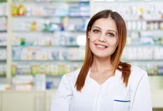 Doctor in pharmacy Stock Image