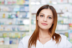 Doctor in pharmacy Stock Photo