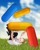 Doctor and pills Royalty Free Stock Photos