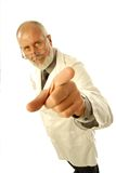 Doctor pointing Royalty Free Stock Photography