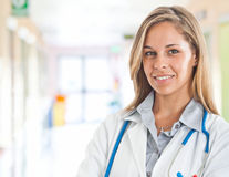 Doctor portrait Royalty Free Stock Photo