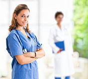 Doctor portrait Royalty Free Stock Images