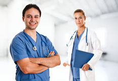 Doctor portrait Stock Photography