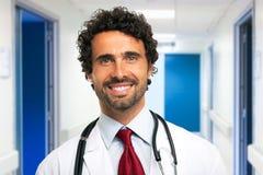 Doctor portrait Stock Images