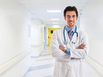 Doctor portrait in the hospital Stock Photography