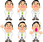 Doctor Pose Collection Royalty Free Stock Photo