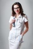Doctor posing Royalty Free Stock Photos
