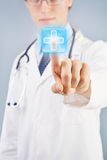 Modern doctor Royalty Free Stock Photos