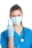 Doctor proctologist Stock Images