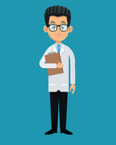 Doctor professional healthcare design Royalty Free Stock Images