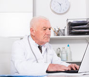 Doctor ready for patients Royalty Free Stock Images