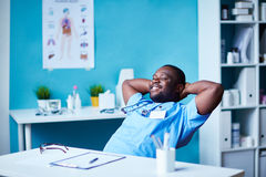 Doctor resting Stock Photos