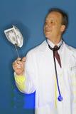 Doctor rico Fotografía de archivo libre de regalías