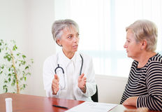 Doctor's advices Stock Photography