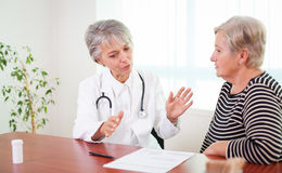 Doctor's advise Stock Images