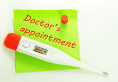 Doctor's appointment Royalty Free Stock Photography