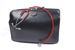 Doctor's bag royalty free stock photography