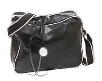 Doctor's bag with stethoscope. Royalty Free Stock Image